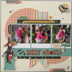 You are a silly ghoul (girl) - Scrapbook.com