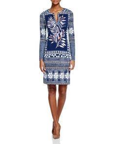 DIANE von FURSTENBERG Reina Silk Tunic Dress | Bloomingdale's