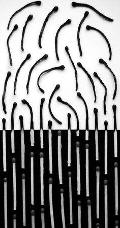As surreais fotografias com sombras e padrões em preto e branco de Alexey…