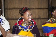 More on Culture. Join us as we enjoy Landi and Malibongwe's Ndebele South African wedding reception by As Sweet As Images. African Attire, African Wear, African Women, African Dress, African Style, African Traditional Wedding, Traditional Wedding Dresses, Traditional Outfits, Traditional Weddings