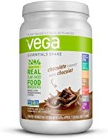 Vega Essentials Nutritional Shake Chocolate Servings, - Plant Based Vegan protein, Non Dairy, Gluten Free, Non GMO Protein Smoothies, Protein Muffins, Protein Snacks, Plant Based Protein Powder, Vegan Protein Powder, Whole30, Vegan Shakes, Vegas, Nutrition Shakes