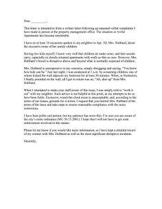 9 Complaint Letter Images Complaints