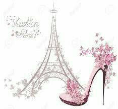 Illustration of High-heeled shoes on the background of the Eiffel Tower Paris Fashion vector art, clipart and stock vectors. Torre Eiffel Paris, Arte Fashion, High Fashion, Foto Poster, Paris Images, Paris Art, I Love Paris, Paris Theme, Fashion Sketches