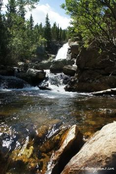 Alberta Falls || Rocky Mountain National Park || Dirt In My Shoes