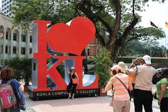 Iconic I LOVE KL Structure, Kl City Gallery