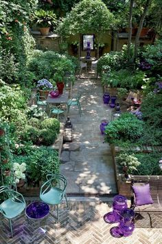 Pinterest : aménagement petit jardin de ville