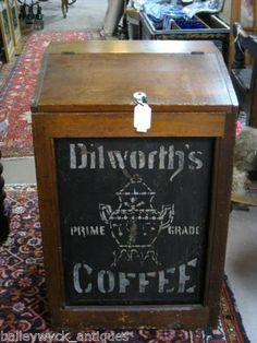 Antique+Country+Store+Coffee+Bin