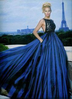 Valeria Mazza in Paris