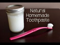 Homemade Coconut Oil Based Toothpaste