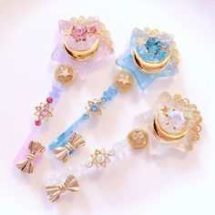 Pastel kawaii princess accessories