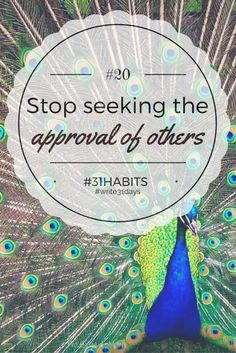 Habit #20 Stop seeki