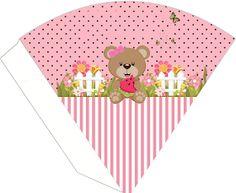 Osita Comiendo Sandía: Kit para Fiestas para Imprimir Gratis. Oh My Fiesta, Rement, Cute Bears, I Party, Free Printables, Christmas Cards, Patches, Baby Shower, Templates
