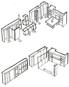 Flexible Furniture and Walls