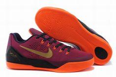 38c092ba1c3e Really Cheap Kobe Cheapest 2018 Kobe 9 EM Deep Garnet Hyper Crimson Cave  Purple Metallic Gold Orange 646701 678