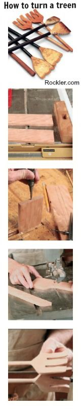 How to Turn a Treen: Make a Fork Turning Project on Your Lathe - Rockler.com