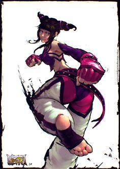 Juri - Street Fighter Fanart by alexnegrea on DeviantArt