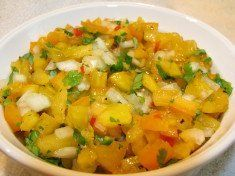 Fresh Tomato salsa Recipes are Party Dishes. add wild colors and tastes with Heirloom Tomatoes