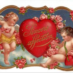 Great old valentine postcard.