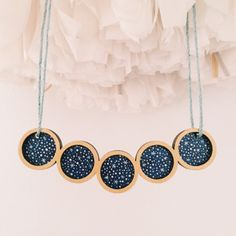 Stargazer necklace by Whimsy Milieu
