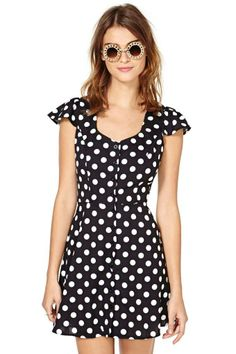 Marks The Spot Dress
