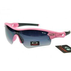 Counterfeit Oakley Rada Path Sunglasses matte pink-black frames purple lens | See more about oakley, paths and sunglasses.