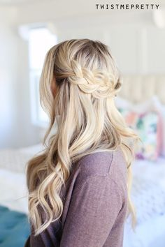 How to do a Crown Braid (2 ways)