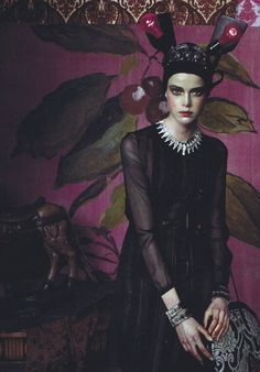 by steven meisel vogue italia