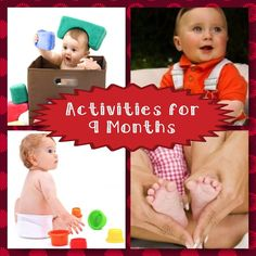 Developmental Activities for Your 9 Month Old  Find fun things to do with your nine month old to help promote your baby's development.
