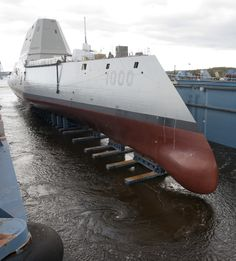 Photos of the US Navy's Zumwalt-class Guided Missile Destroyer : theBRIGADE