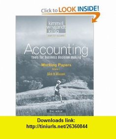 Accounting Working Papers, Vol. 1 (3rd edition) (v. 6) (9780470387832) Paul D. Kimmel, Jerry J. Weygandt, Donald E. Kieso, Dick D. Wasson , ISBN-10: 0470387831  , ISBN-13: 978-0470387832 ,  , tutorials , pdf , ebook , torrent , downloads , rapidshare , filesonic , hotfile , megaupload , fileserve