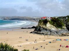 Newquay, Cornwall, love this beach for all those amazing family holidays when we were children!
