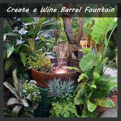 wine barrel gardening - Google Search