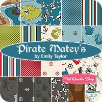 Pirate Matey's by Emily Taylor for Riley Blake Designs.
