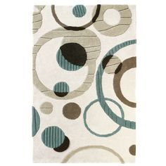 Dynamic Rugs Aria Ivory 1106 Area Rug $299.99 4ftx6ft