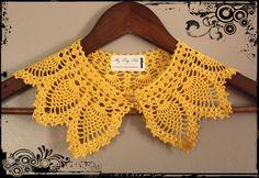 Christmas In November Sale - November 18th to December 2nd - Detachable Crochet Collar #myprettybabi, $95.05 @Etsy @Meylah.com