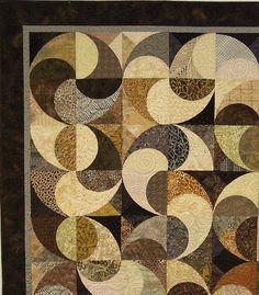 """This """"swirling"""" design is amazing! I wish I knew where I could find a pattern! C: Joel and Jennys quilt"""