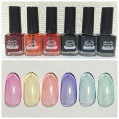 [100均]キャンドゥの新商品♡リキュールネイルの色見本と使い方 - ハルハル