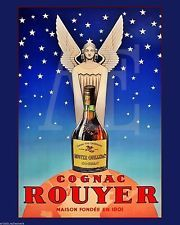 VP-438 Poster Art Print 8x10 ~ Cognac Rouyer Guardian Angel Stars on Night Sky