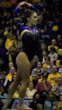 Lsu Gymnastics, Gymnastics Posters, Gymnastics Pictures, Artistic Gymnastics, Gymnastics Leotards, Ballet Leotards For Girls, Dance Leotards, Gymnastics Photography, Female Gymnast