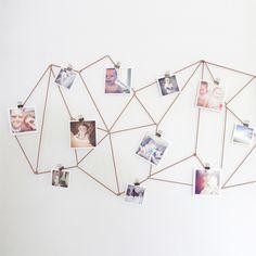 A fun creative way to display your Instagram photos.