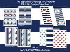 afl party supplies - Google Search