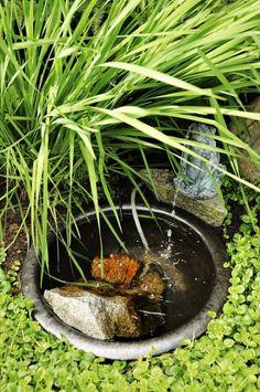puutarhan suihkulähde
