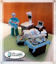 Obstetrics Doctor Retirement Cake