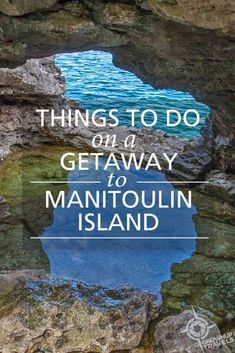 A mini-vacation to Manitoulin Island is just the ticket to get away from it all to the near North. Here are the top things to do on Manitoulin Island. Oh The Places You'll Go, Cool Places To Visit, Places To Travel, Ontario Place, Auckland, Manitoulin Island, Ontario Travel, Canadian Travel, Summer Travel