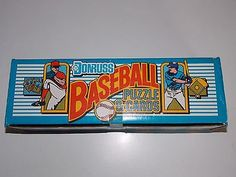 1989 DONRUSS BASEBALL COMPLETE FACTORY SET 660 CARDS KEN GRIFFEY JR ROOKIE +++