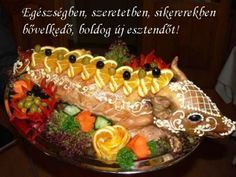 ÚJÉVI KÉPESLAPOK - tanitoikincseim.lapunk.hu Sushi, Japanese, Ethnic Recipes, Food, Japanese Language, Essen, Meals, Yemek, Eten
