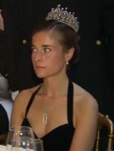 Princess Blanche de Merode, married to Baron Philipp von und zu Bodmann with her mysterious, stunning tiara!