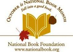 october is national book month, fall into a good book from the national book foundation