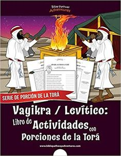 Vayikra | Levítico: Libro de Actividades con Porciones de la Torá (Serie de Porción de la Torá) (Spanish Edition) Book Club Books, Book 1, New Books, Quizzes For Kids, Yom Teruah, Bible Resources, Bible For Kids, Kindle App, Bible Stories