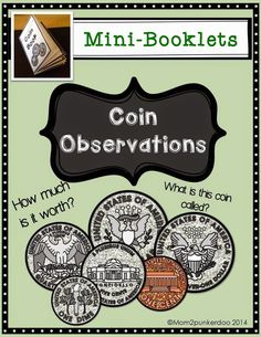 Coin Observations Freebie: How To Fold A Mini Booklet  #coins #freebie #paperfolding